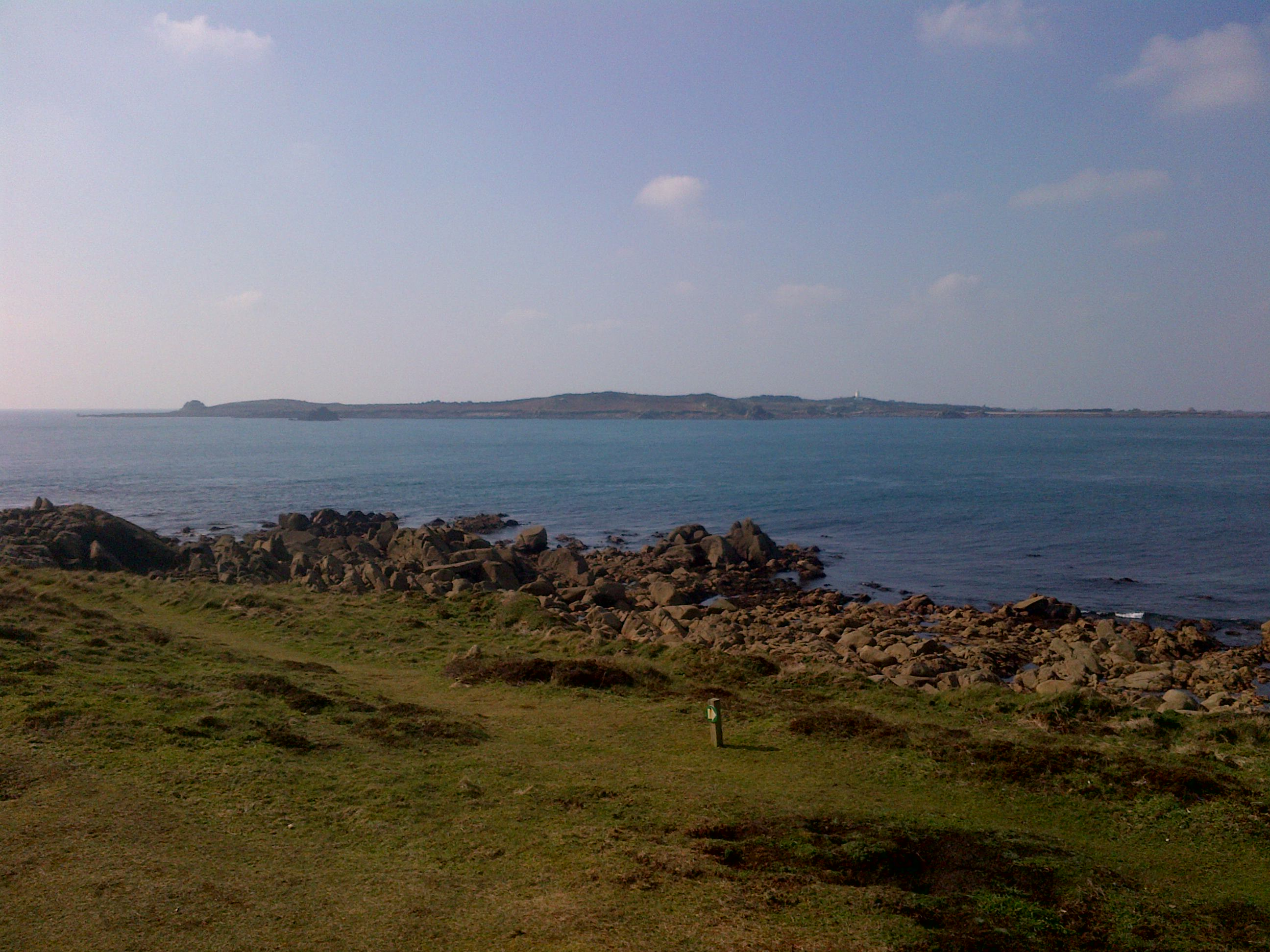 View from The Garrison, St Mary's, Isles of Scilly